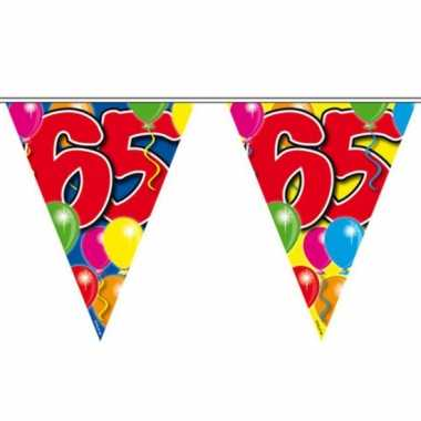 2x leeftijd vlaggenlijnen 65 jaar 10 meter