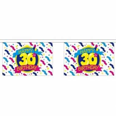 30e verjaardag slinger deluxe