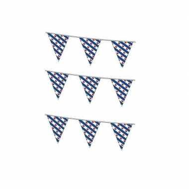 3x vlaggenlijnen friesland 10 meter