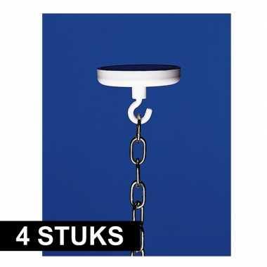 4x versiering ophangen ophanghaak met magneet