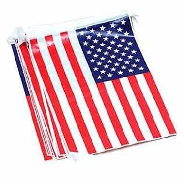 Amerikaanse vlaggenlijnen 7 meter