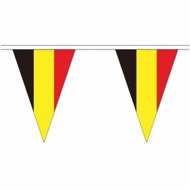 Belgische landen versiering vlaggetjes 5 meter