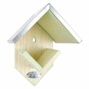 Buiten vogelvoederhuisje voor pindakaas 20 cm