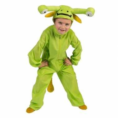 Carnavalskostuum marsman voor kinderen