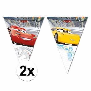 Cars thema vlaggenlijnen 6 meter
