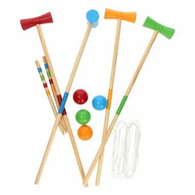 Croquet sport spel buiten speelgoed voor kinderen