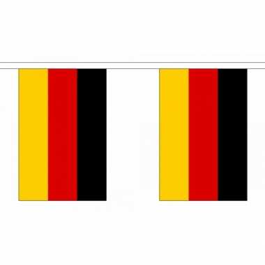 Duitsland vlaggenlijnen deluxe