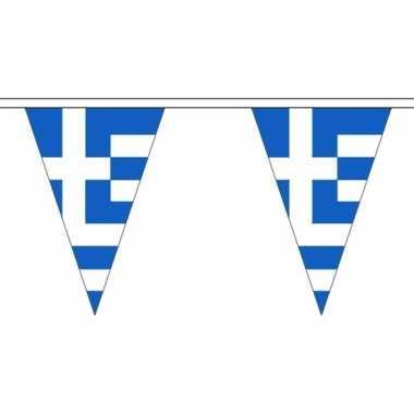 Griekenland versiering vlaggenlijn 5 m