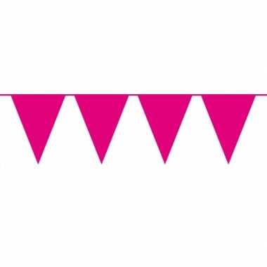 Groot formaat magenta roze slingers