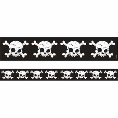 Halloween tape met schedels 6 meter