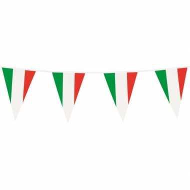 Italiaanse plastic vlaggetjes