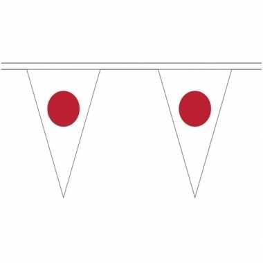 Japanse landen versiering vlaggetjes 5 meter