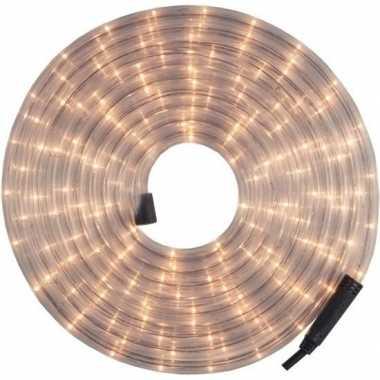 Kerstverlichting lichtslang / lichtsnoer wit 9 meter voor buiten
