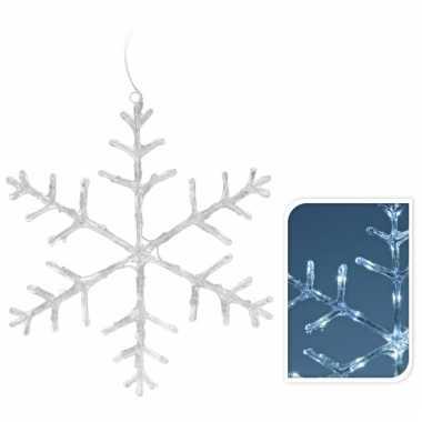 Kerstverlichting sneeuwvlok 45 cm