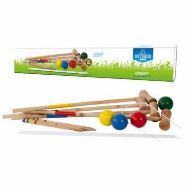 Kinder croquet spel