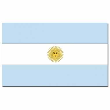 Landen vlag argentinie 90 x 150 cm