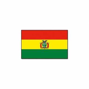 Landen vlag bolivia 90 x 150 cm