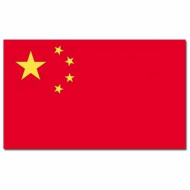 Landen vlag china 90 x 150 cm