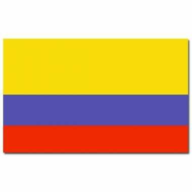 Landen vlag colombia