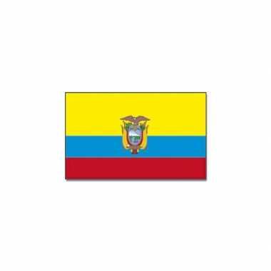 Landen vlag ecuador