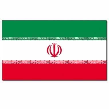 Landen vlag iran 90 x 150 cm