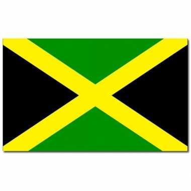 Landen vlag jamaica 90 x 150 cm