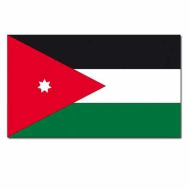Landen vlag jordanie