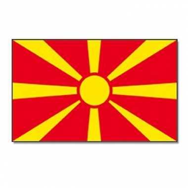 Landen vlag macedonie