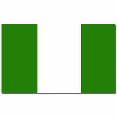 Landen vlag nigeria