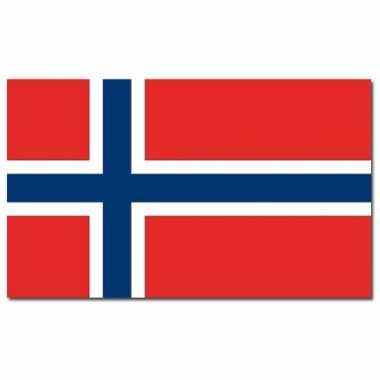Landen vlag noorwegen