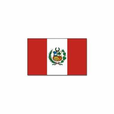 Landen vlag peru 90 x 150 cm