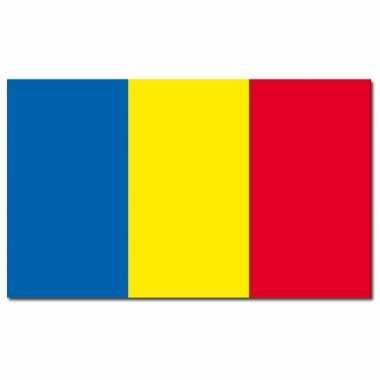 Landen vlag roemenie 90 x 150 cm