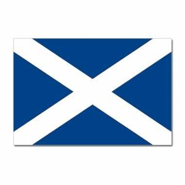 Landen vlag schotland 90 x 150 cm