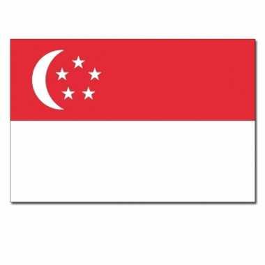Landen vlag singapore