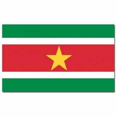 Landen vlag suriname