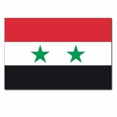 Landen vlag syrie