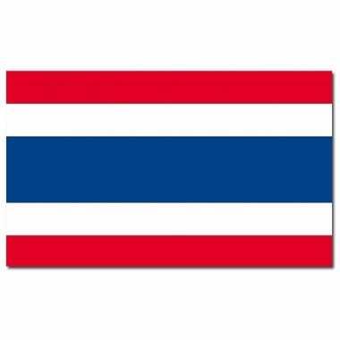 Landen vlag thailand 90 x 150 cm