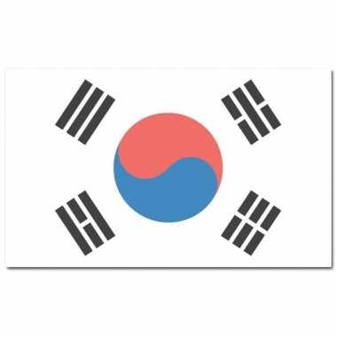 Landen vlag zuid korea