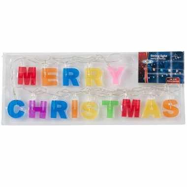 Merry christmas lichtsnoer