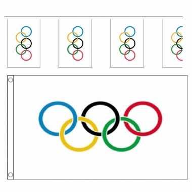 Olympische spelen versiering vlaggetjes pakket