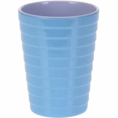 Onbreekbare drinkbeker blauw 300 ml