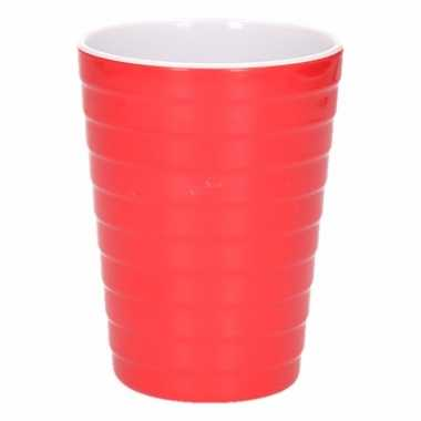 Onbreekbare drinkbeker rood 300 ml