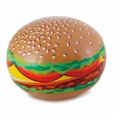 Opblaasbare bal hamburger 61 cm buitenspeelgoed
