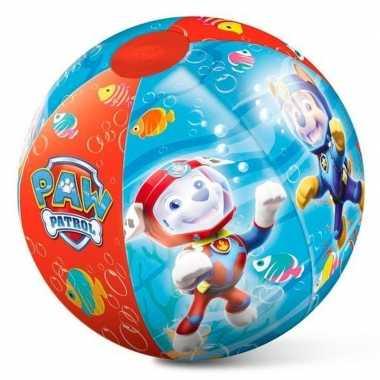 Opblaasbare bal paw patrol 50 cm buitenspeelgoed