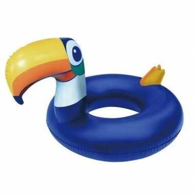 Opblaasbare toekan 125 cm zwembanden/zwemringen buitenspeelgoed