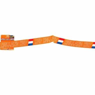 Oranje holland afzetlinten 15 m