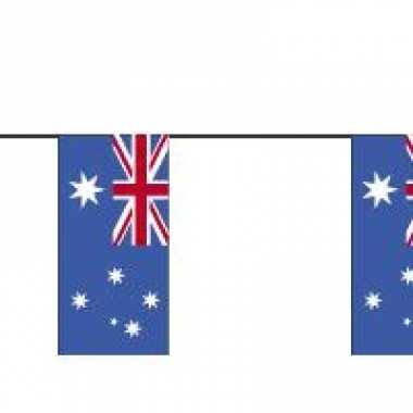 Papieren vlaggenlijnen australie