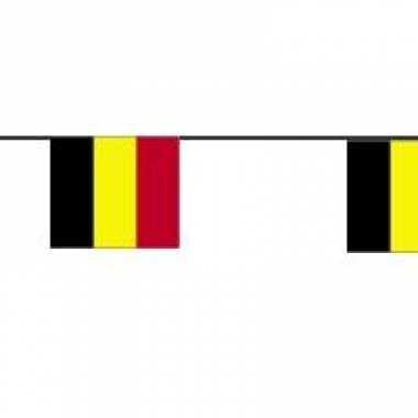 Papieren vlaggenlijnen belgie