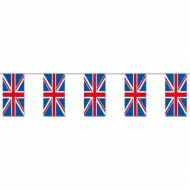 Papieren vlaggenlijnen engeland