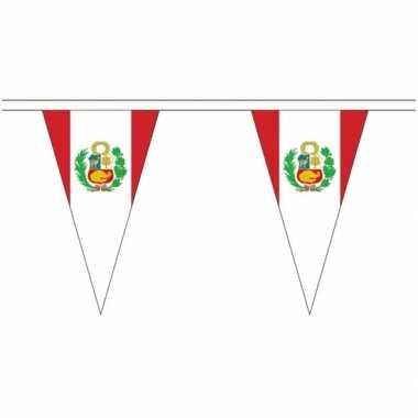 Peruaanse landen versiering vlaggetjes 5 meter